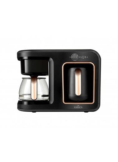 Karaca Hatır Plus 2In 1 Kahve Makinesi Black Copper Renkli